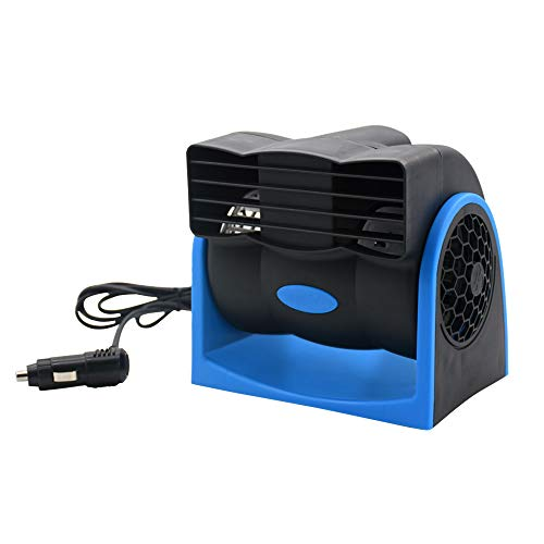 Taotuo Car Cooling Air Fan 12V Auto Vehicle Van SUV Speed Adjustable Silent Cooler - Cooler Drive Evaporative