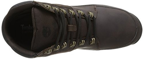 Scuro Timberland And Hiker Ek Uomo Fabric Leather marrone Marrone Sneaker Sprint HwvnUqHap