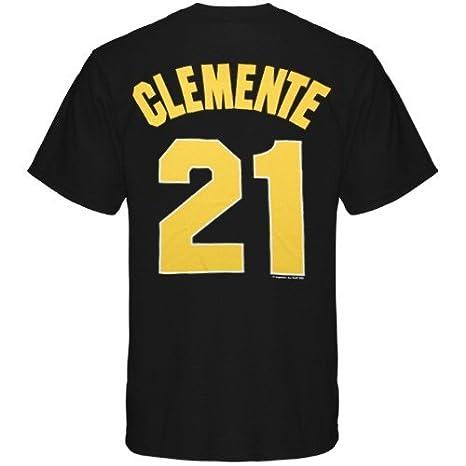 Amazon.com: Pittsburgh Pirates Roberto Clemente - Camiseta ...