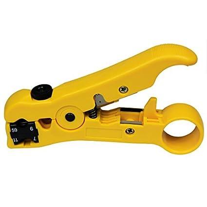 Coaxial Stripping Tool Cable coaxial Stripper para RG59 / 6/7/11 / Función