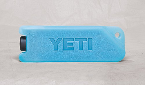 "YETI ICE Refreezable Reusable Cooler Ice Pack 2 Impact Resistant No puddles to drain or clean Freezes faster and stays colder longer Dimensions:8"" x 5 3/8"" x 1 3/5"""