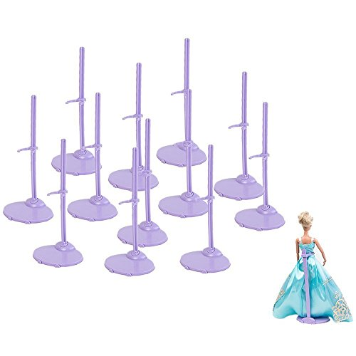 Lanlan Lot of 12pcs Clothing Stand Model Support Frame Prop