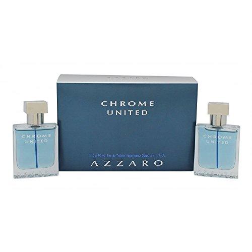 Azzaro Chrome United 2 Pcs Set: 1 Oz Sp Gift Set:men