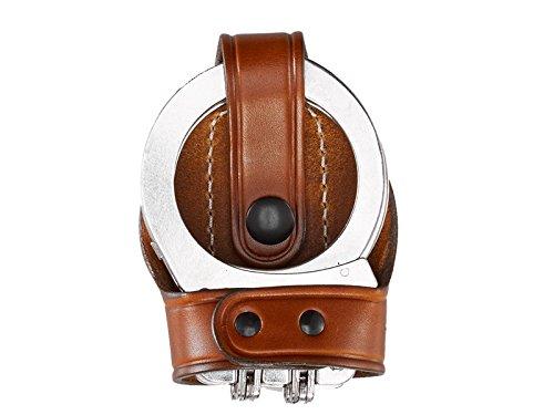 Aker Leather Products Bikini Handcuff Case, Hinged 603 Bikini Handcuff Case, Hinged, - Leather Handcuff