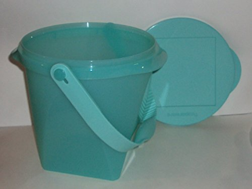 Green Jumbo Bin - Tupperware Impressions 5 Quart Jumbo Canister with Handle Cool Mint Green