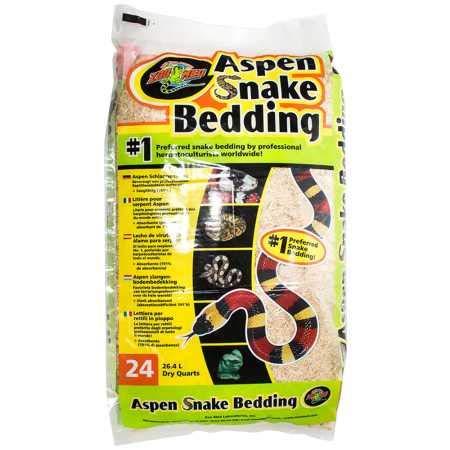 Zoo Med Aspen Snake Bedding (24 qt) by Zoo Med