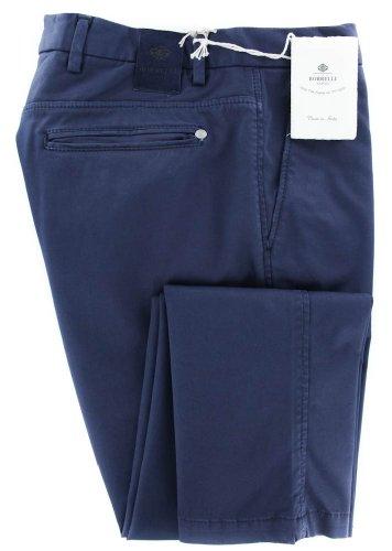 new-luigi-borrelli-navy-blue-solid-pants-super-slim-36-52