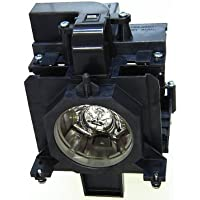 Electrified POA-LMP136 610-346-9607 Replacement Lamp with Housing for Sanyo Projectors