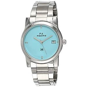 Maxima Attivo Date Blue Dial WOMEN -O-46760CMLI