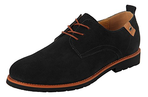 ilovesia-mens-lace-up-casual-oxford-suede-leather-shoe-black-us-size-9