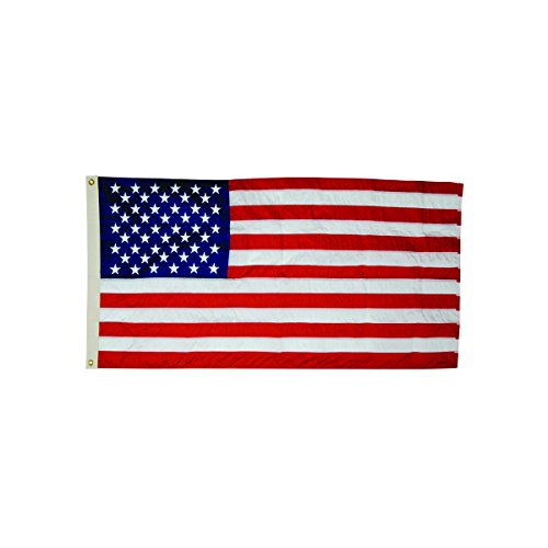 ADVANTUS All-Weather Outdoor U.S. Flag, 100% Heavyweight Nylon, 3 x 5 Feet (Outdoor Flag)