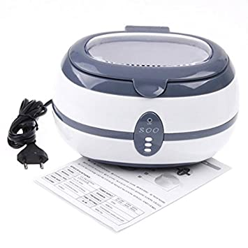 Ultrasonic Cleaner de geometría variable VGT 800-Bandeja para limpieza de ultrasonidos 600 ml