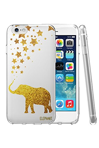 iPhone 6 Plus Case, Phone Case 5.5 Inch - Bling Elephant Iphone Case