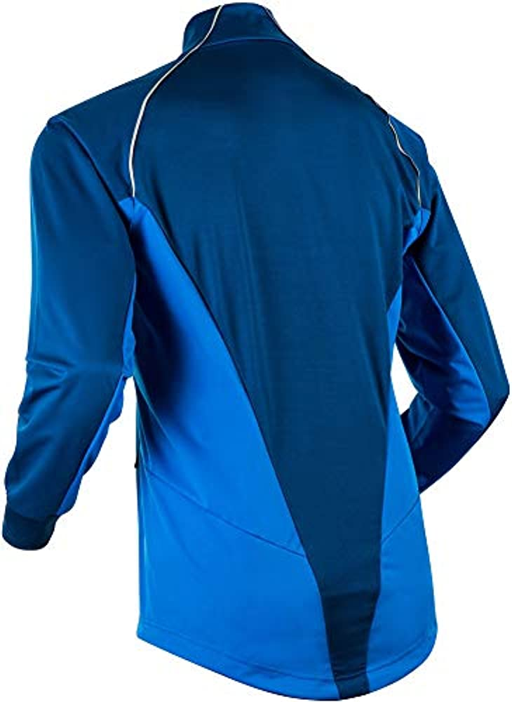 12c9cb7e Amazon.com: Bjorn Daehlie Effect XC Ski Jacket Estate Blue Mens Sz M ...