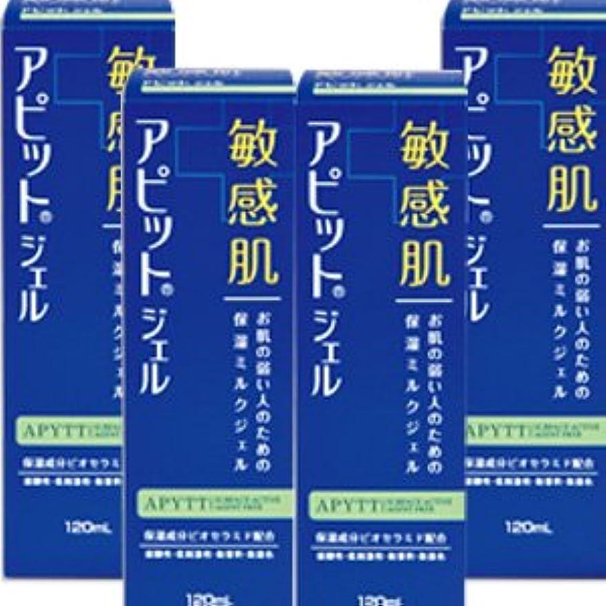 アダルト狂人王族【4個】全薬工業 アピットジェルS 120mlx4個セット (4987305034625)