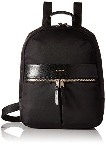 Knomo Luggage Mayfair Nylon Beauchamp Mini 10-Inch Backpack, Black, One Size by Knomo