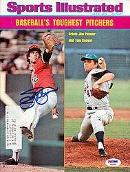 Jim Palmer Signed Sports Illustrated Magazine Baltimore Orioles PSA/DNA Authentication Autographed MLB Baseball Memorabilia