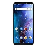 BLU V0390WW Black Vivo Go 6.0 HD+ Display Smartphone with Android 9 Pie -Black