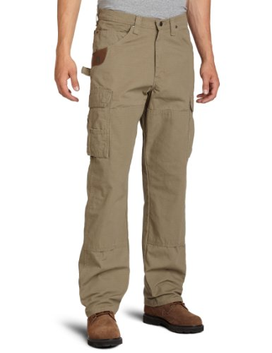 (RIGGS WORKWEAR by Wrangler Men's BIG Ranger Pant,Bark,48x30)