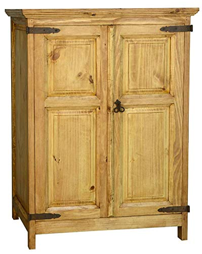 (Monterray Rustic Short Armoire Fully Assembled)