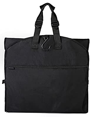 "66"" Versatile Travel Wedding Dress Garment Bag Tri-Fold Gown Length w/Hanging Hook Extra Pocket by Magictodoor"