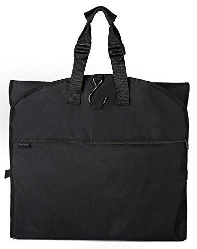 Fold Lightweight Bag Garment Tri - Magictodoor Versatile Travel Wedding Dress Garment Bag Tri-Fold Gown Length w/Hanging Hook Extra Pocket 66