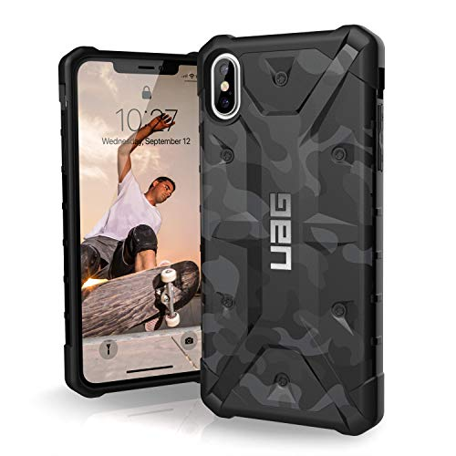 URBAN ARMOR GEAR UAG iPhone Xs Max [6.5-inch Screen] Pathfinder SE Camo Feather-Light Rugged [Midnight] Military Drop Tested iPhone Case