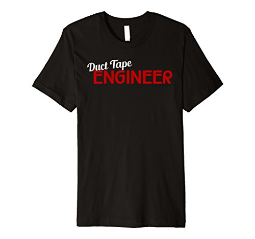Duct Tape Engineer T-Shirt Funny Sayings Duct Tape by Duct Tape Engineer Cute Funny Gift Shirt (Image #2)