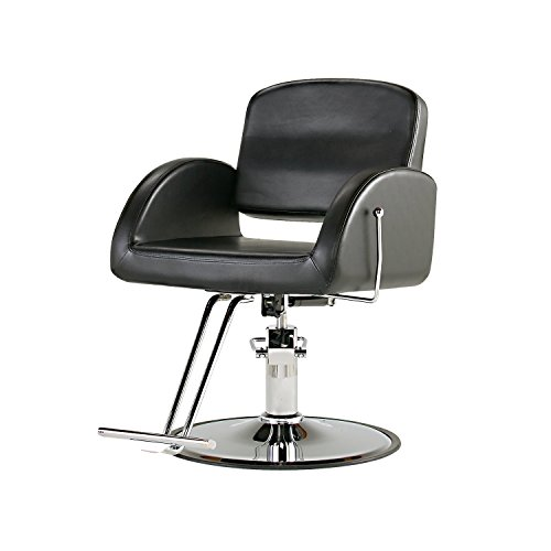 PureSana Ashley All-Purpose Salon Chair With Chrome Base