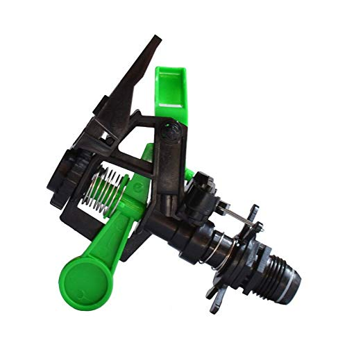 (Ganos Garden Sprinkler - 1/2 Inch Rotate Water Sprinkler Spray Nozzle Connector Rocker Arm Irrigation Watering System Tools 10pcs)