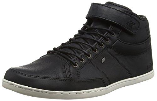 Boxfresh Swich Prem ICN Lea, Sneaker Alte Uomo nero