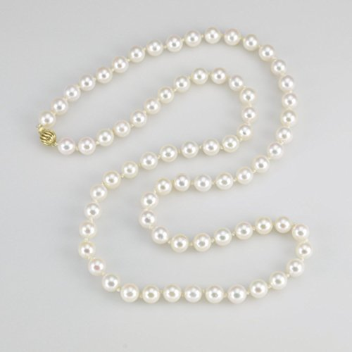 26 Inch Cultured Pearl Necklace - 6