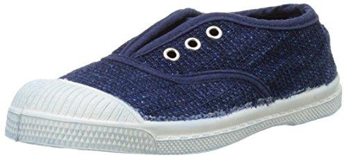 Bensimon Elly Indigo Tweed - Zapatillas Unisex Niños Bleu (532 Bleu)
