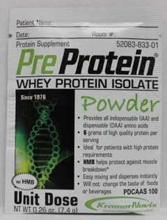 Pre-Protein POWDER 7.4 g Pouch - 60 ct. case