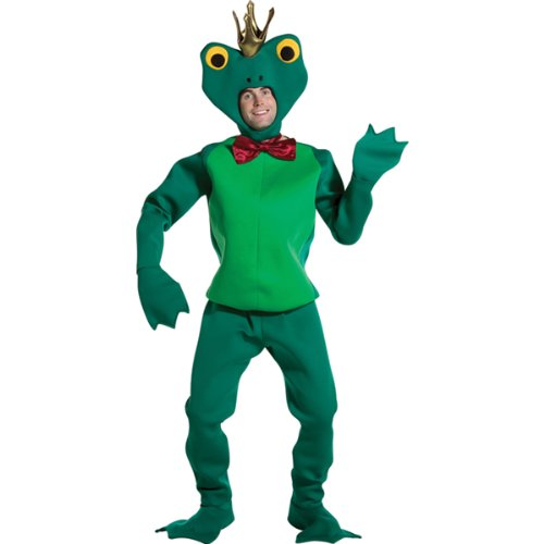 [Rasta Imposta Frog Prince, Green, one-size fits most] (Prince Frog Costumes)