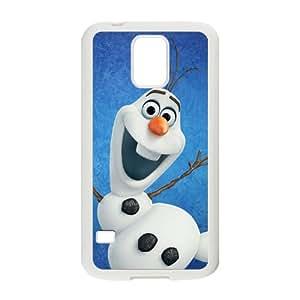 DASHUJUA Frozen Olaf Cell Phone Case for Samsung Galaxy S5