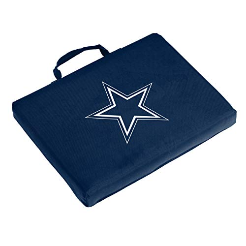 Logo Brands NFL Dallas Cowboys Bleacher Cushion, One Size, Navy