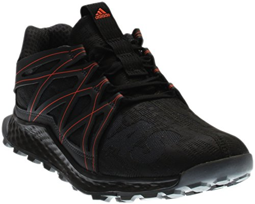 adidas Performance Men's Vigor Bounce m Trail Runner Dark Grey/Black/Infrared 7.5 M US