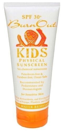 BurnOut SPF 35 KIDS Physical Sunscreen by BurnOut