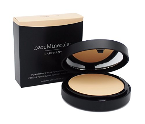 bareMinerals Barepro Performance Wear Powder Foundation, Golden Ivory, 0.35 Ounce