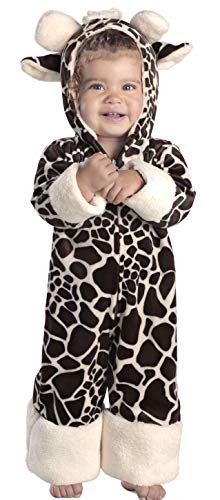 Safari Costume For Baby (Princess Paradise Baby Giraffe, Brown/Cream, 12 to 18)