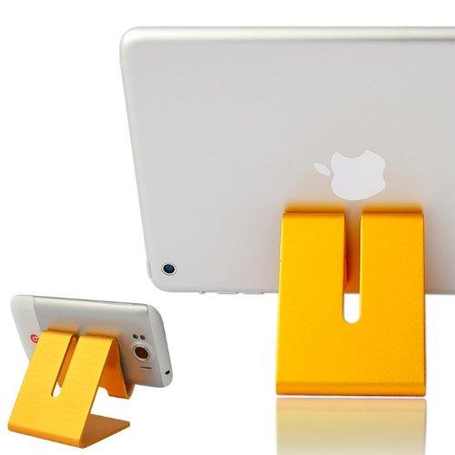First2savvv golden hard Steel stand desktop dock docking ...