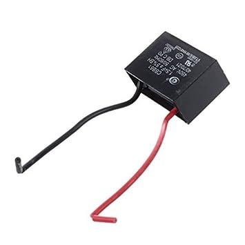 DASUKE 450 V 1.5uF 50/60 Hz Fan Motor Run Kondensator CBB61: Amazon ...