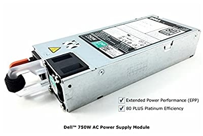 Platinum Efficiency 750W AC Power Supply Module with EPP for Dell PowerEdge T430, T630, PowerVault NX3230, NX3330, Dell DSS 2500, XC630 and XC730