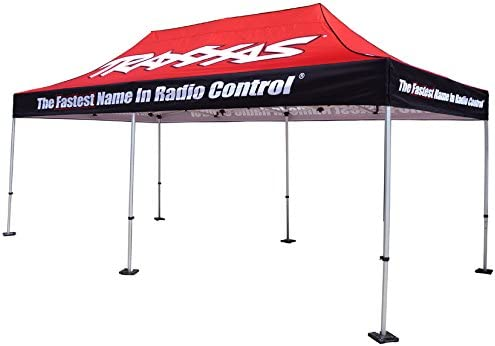 Elite Canopy 10'x20' Commercial-Grade Steel Pop-Up Canopy Trade Show Outdoor Tent w/Roller Carry Bag