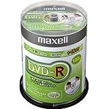 maxell データ用DVD-R 16倍速対応 シルバープリンタブルディスク 100枚スピンドルパック DR47DPNS.100SP