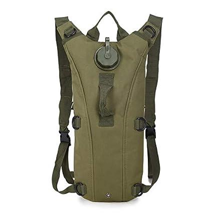 Amazon.com: Unipro - Bolsa de agua de 3 l, mochila militar ...