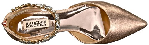 Women's Ii Flat Badgley Jane Gold Mary Mischka Morgen Rose 6qxB5