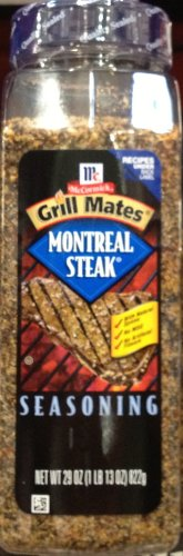 McCormick Grillmates MONTREAL STEAK Seasoning 29oz. (2 Pack)