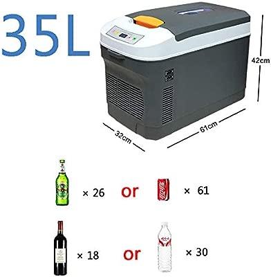 DLDL Sobremesa Mini Congelador y Caja Portátil Eléctrica ...